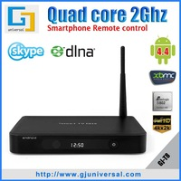 {Arabic Channels} Arabic TV Box quad-core Amlogic S802 2Ghz  2GB+8GB Wi-Fi 4K Android 4.4 XBMC Miracast Metal housing