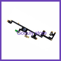 1Pcs/Lot power on off switch volume silent mute button flex cable ribbon for ipad3  free shipping
