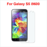 Free shipping 1pc/lot clear screen protector for Samsung Galaxy s5 i9600 cellphone