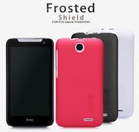 Original Nillkin Case for HTC 310 D310W 4 Colors Super Plastic Matte Case + Screen Protector Film, Free shipping