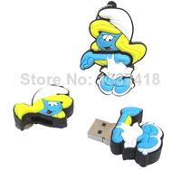 Free shippingCartoon Special offer Free Shipping 8G Blue man USB flash pen drive cute cool Free shipping