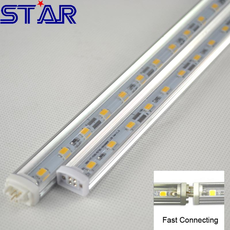 El uso de las tiras de LEDs iluminet