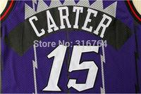 #15 Vince Carter Brand New Jerseys Purple Basketball Jersey
