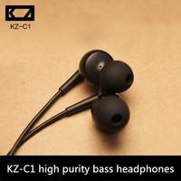 DIY-C1 bass reduction of high-purity specialty ear headphoneshd headphone high resolut clear earplugs