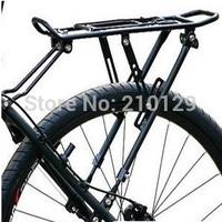 3 point support black Cycling Bicycle Bike Carrier Aluminum Alloy disc-brake V-brake Rear Rack Fender Luggage Seatpost Rack