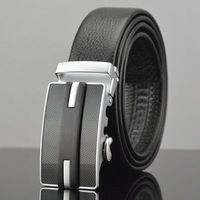Free delivery of a new business man leather belt belt leather belts wholesale men's belt automatic agio layer