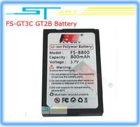 Free Shipping Flysky FS-B800 FS B800 3.7V 800mAh Lipo Battery For FS-GT3C  GT2B FS-IT4 RC Controller Transmitter boy toy