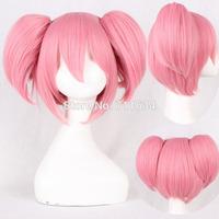 Kaname Madoka Pink Short Cosplay Anime Wig,Free Shipping