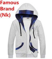 Nk Brand Men New Jogging Sweatshirt Autumn Winter Cotton Coat Parka Tracksuit Hoodie Set Sportswear Jogging Jacket Sports Suit