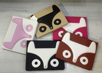 Cute Cartoon fox Case For iPad 2 3 4 Cover Stand Tablet Designer Leather Cover For Apple iPad 2/3/4 Case Free Shipping