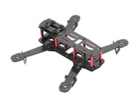 QAV250 carbon fiber 250mm Mini FPV Quadcopter Frame Kit / 4 Axis Mulitcopter edm