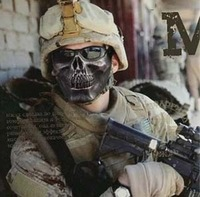 High Quality Party Mask American Soldier Skull  Mask For Helloween&Carnival&Party 10pc/opp Both Children And Adults