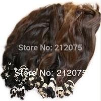 "10""-40""inches High quality Bulk brazilian Virgin hair*Remy human hair * 1kg/lot"