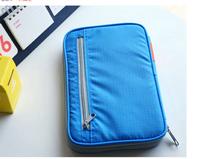 2014 New fashion pocket card bag purse wallet passport cover travel bag documents passport covers case passport holder