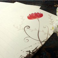 New Arrival CoffeeX Lotus 16k Letterheads Letter Paper Writing Paper Note Paper Letter Pad Letterform Stationery