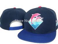 Pink Dolphin Top Quality 2014 Fashion Summer Brand Designer Adjustable Baseball Cap Hip Hop Sport Snapback Sun Hats Men Women