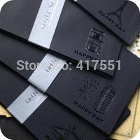20 pcs/lot new envelope Black hot stamping decoration envelope Postcards to receive the envelope Red envelope free shipping