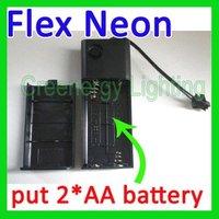 Free Shipping 3V EL neon wire Inverter EL converter EL wire driver portable 5 pcs/lot