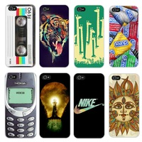 1pc Hot Sale New Arrive personality fantasy Novel back cover case for Iphone 5 5s