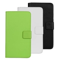 2015 New Flip Leather Wallet Case Stand Cover For One plus One phone Case Oneplus one Phone Cases 3 Colors
