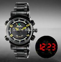 New original Weide watches men luxury brand 30ATM Waterproof LED Fashion Outdoor Dive Swim Dress Wristwatches 1101 free shipping