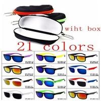 2014 New Fashion KEN BLOCK Sunglasses Men 21 colors Sport Cycling Eyewear Sun Glasses oculos de sol +box Free Shipping