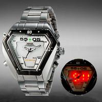 New original Weide watches men luxury brand 30ATM Waterproof LED Fashion Outdoor Dive Swim Dress Wristwatches 1102 free shipping