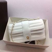 Genuine Leather  Women Handbags 68053  25cm Chain Women Shoulder Bags Hot Sale Classic Women Bags