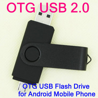 Retail OTG micro usb Smart Phone USB Flash Drives thumb pendrive memory stick u disk for Samsung 16GB 32GB 64GB Free shipping