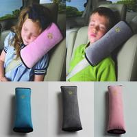 Cotton Soft Cartoon belt cap Safety shoulder Child restraint jacket  Thick sponge  4colour for choose 5p/Lots  Favor Gift Box