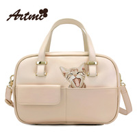 Artmi2014 one shoulder female big bag cat embroidery the trend of fashion handbag messenger bag