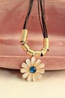 Fashion Jewelry opal flower women Necklace  free shipping