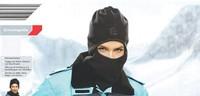 Unisex Winter Warm Full Face Cycling Mask Cover Neck Guard Scarf CS Headscarf  HW-009 60cm 1pcs