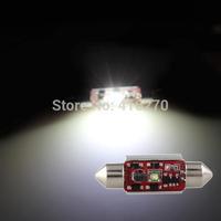 2 x 3W CREE R2 LED Festoon Bulb Lamp Light Car Interior Dome 39mm ERROR FREE