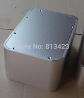 full aluminum round big volum hifi audio DIY case for enclosure amplidier chassis  / AMPLIFIER BOX/AMPLIFIER CASE