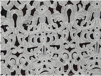 New design  white  Venice lace embroidery lace fabrics