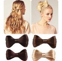 5 Pcs/lot Wholesale Free Shipping Fashion Headband Weaved hair bands wig bow hairpins hair clips women Girls' Hair Accessories