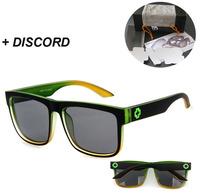 NEW DISCORD Sunglasses Frames MEN Driving Cycling Sports mirror Sun lenses shades BRAND Sun spectacles goggles UV400 BLACK