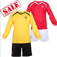 Brand logo paintless uniforms personalized blank jersey short-sleeve jersey newborn soccer jersey soccer jerseys free shipping
