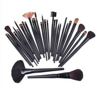 Hot  New Style 32Pcs Make Up Brushes High Quality Facial Cosmetic Kit Beauty Bags Set Makeup Supply