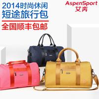 New arrival hot sale 900D nylon fabric with PU coating fashion travel bag handbag one shoulder sports gym bag luggage bag