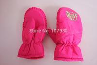 2014 Winter Children Glove Thermal Ski Gloves Windproof Thickening