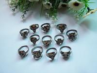 20pcs/lot Men's Skull Ring