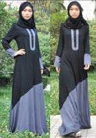 Brushed linen Abaya, islamic clothing for women soft thin summer abaya dress,Islamic Abaya, jilbab, plus size,best  gift