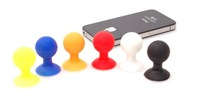 2014 silicone suction cup phone stand phone holder for Iphone Samsung smartphone Auto accessories