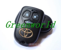 Free Shipping Grand New key TOYOTA Corolla  key shell  remote key shel