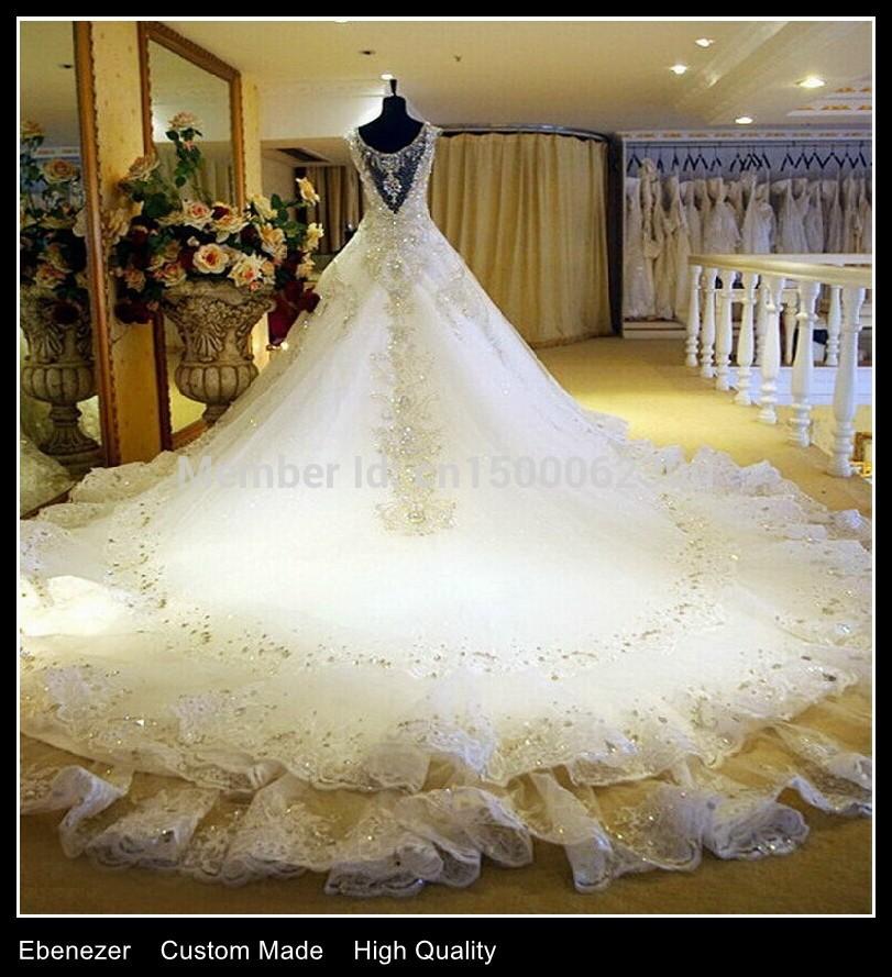 Фото шикарные пышные свадебные платья мира