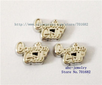 wholesales 20pcs floating charms country girl FC262 for living memory floating locket as Mom Dad sister grandma gift