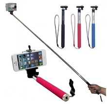 New Mini tripod Self Photo Holder Aluminium Alloy Extendable Monopod + 1 head for Cellphone and Camera 3 colours