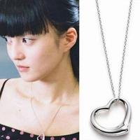 2014 austria crystal love peach heart brief fashion accessories chain